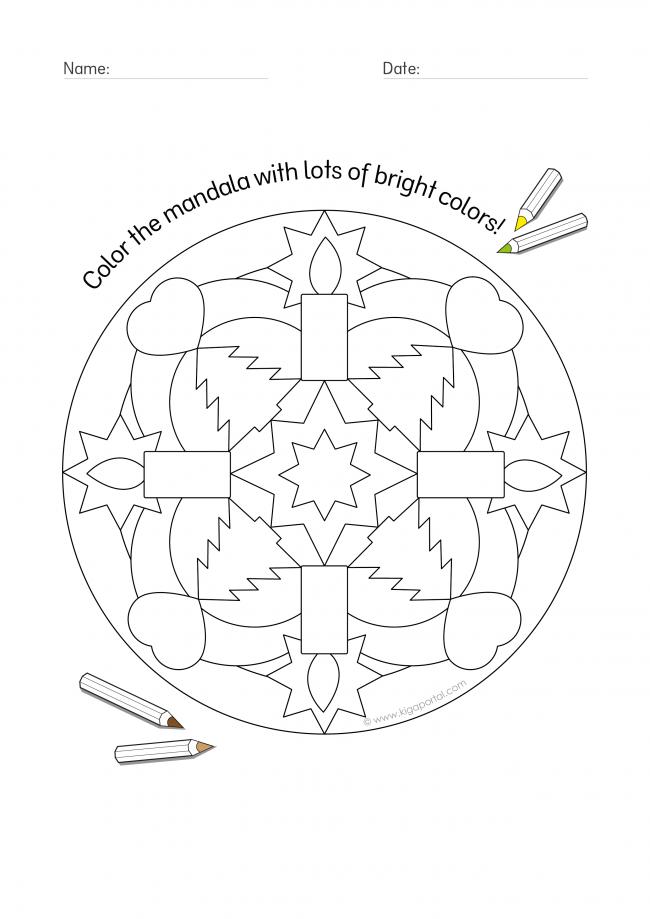 malvorlage fuchs mandala  tier mandalas ausmalbilder mit
