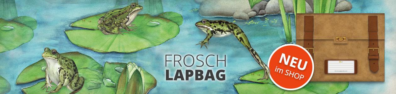 FROSCH LAPBAG - JETZT NEU